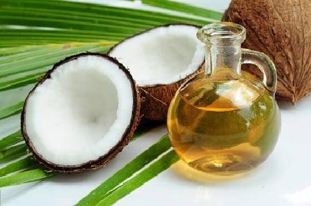 aceite de coco virgen para la piel