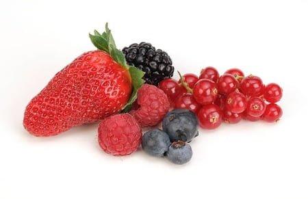 frutas rojas antienvejecimiento