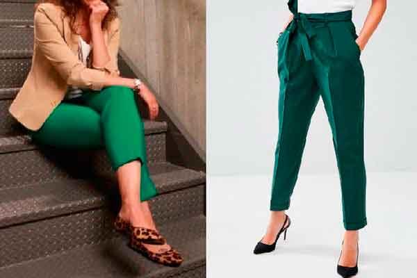 e924435009 Cómo combinar un pantalón verde - ¡NUEVAS TENDENCIAS!